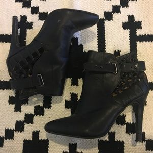 Forever 21 Shoes - Forever 21 black heel booties